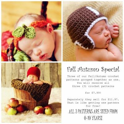 https://www.etsy.com/listing/197132801/child-baby-hat-crochet-patterns-fall